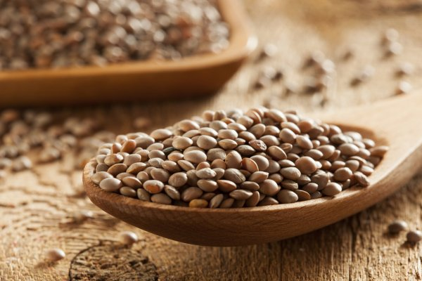 Lentils - More Iron Than Meat