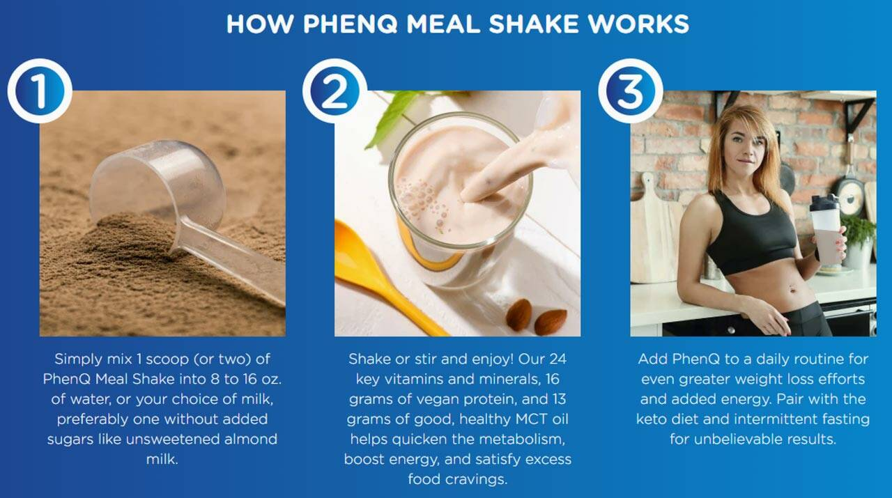 How To Use PhenQ Meal Replacement Shake
